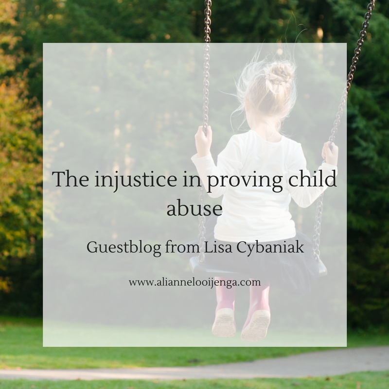 Injustice proving child abuse