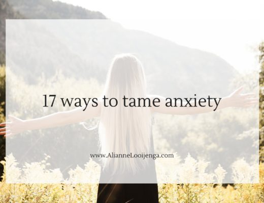 anxiety tame