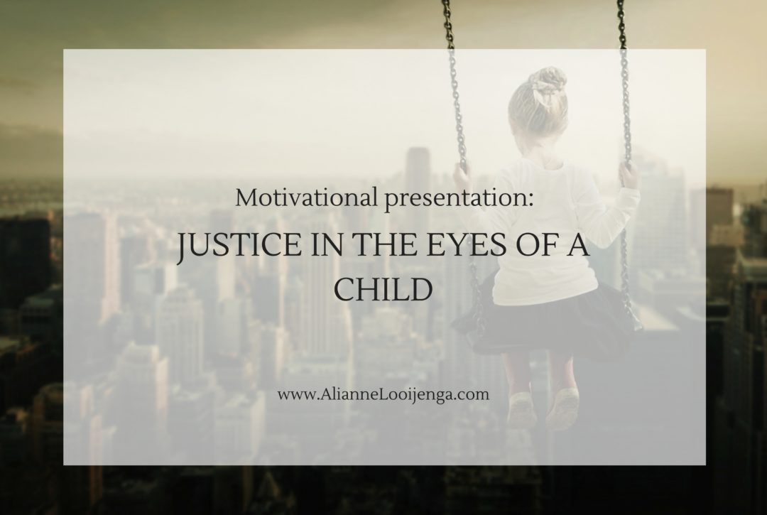 Justice in the eyes of a child