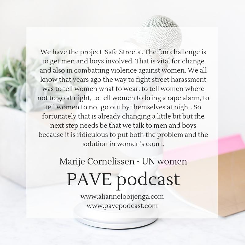 Marije Cornelissen PAVE podcast